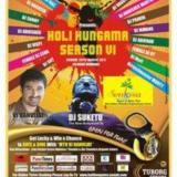 holi hungama with ranvijay and DJ suketu in pune