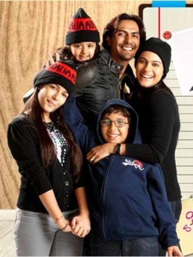 We Are Family: Kajol and Arjun Rampal with their children