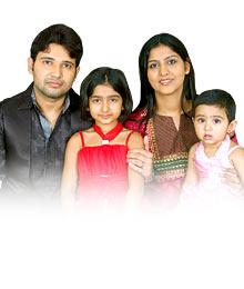 Amit Munjal Family Wife bina Life Participant Contestant Photo