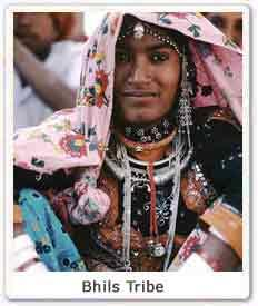 A women of Bhil tribe